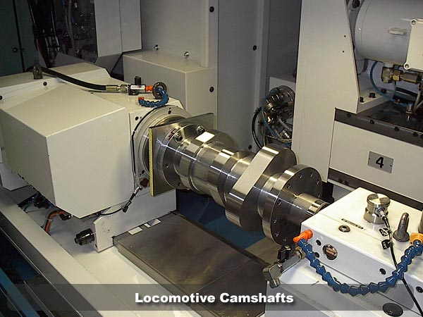 Locomotive Camshafts